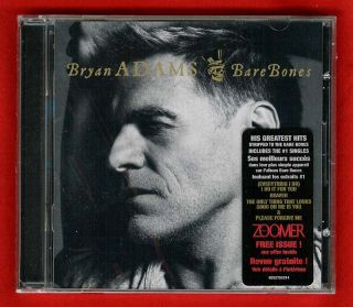 Bryan Adams Bare Bones 2010 Greatest Hits CD 20 Tracks New SEALED