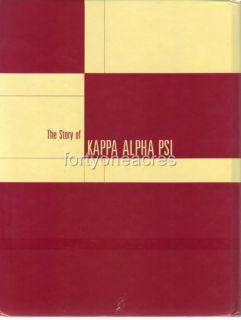 Kappa Alpha PSI History Book 2003 5th Edition Bryson