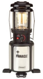 New Coleman Pinnacle Propane Camp Lantern Electric Start Camping