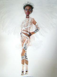 Stephen Burrows Pazette Barbie Doll Direct Exclusive