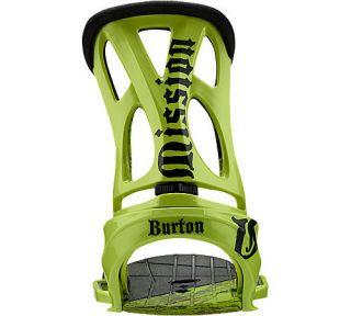 2011 Burton Mission Est Snowboard Bindings L Lime
