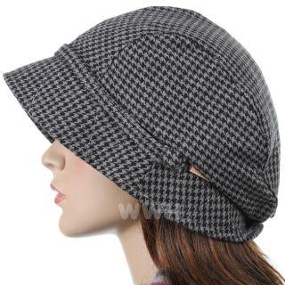 Charm Fashion Lady Bucket Hat Newsboy Cap BK285G