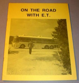 ON THE ROAD WITH E.T.   Ernest Tubb Concert Tour Souvenir Book