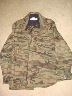 King of the Mountain Bushman Style Wool Shirt in Omnilite Rare L