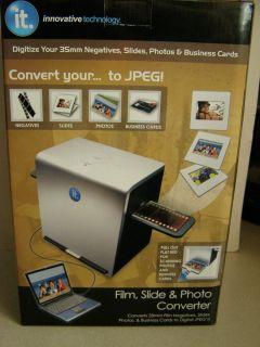 500 Film Slide Photo Business Card Converter Scanner NIB Look