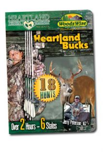heartland bucks deer hunting dvd 18 hunts woodswise format dvd region