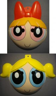 powerpuff girls blossom and bubbles halloween masks made of pvc these