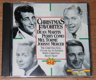 Christmas Favorites Dean Martin Perry Como Mel Torme Johnny Mercer etc