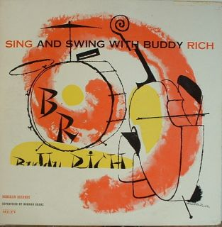Buddy Rich Sing and Swing with Norgran 1031 Mono DSM