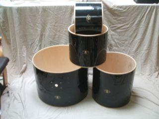 Buddy Rich DW Drum Workshop Drum Set Shell Pack Floor Tom Bass Drum