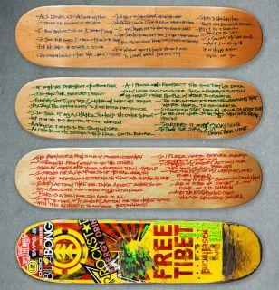 Adam Yauch   Bucky Lasek 4 Lyric Skateboards, Tony Hawk Foundation
