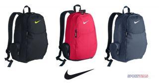 Nike Backpack Bag Classic Black Pink Blue School Gym Travel Back Pack
