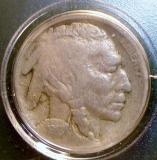 1916 s Buffalo Nickel Fat Mint Mark