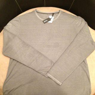 New Buffalo David Bitton Gray Men Long Slevees Shirt Size XL NWT $49