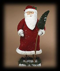 Boyds Large Father Christmas Simple Folk Art Figure
