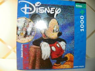 disney photomosaics mickey mouse 1000 pc jigsaw puzzle buffalo games