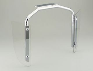 New Honda VTX1800 VTX1300 F N C R s T Chrome Lower Wind Air Deflectors