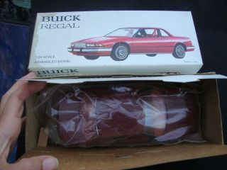 1988 BUICK REGAL 1 24 Promo Model w box