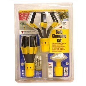 Light Bulb Changer Kit by Bayco Includes 11 Extension Pole and
