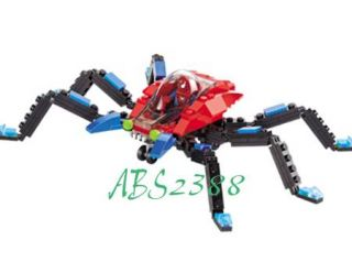 Spider with Minifigure Action Building Blocks Bricks 126pcs THK