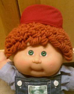 Adorable 25th Anniversary Cabbage Patch Kid boy doll Excellent