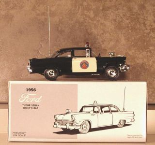 Florida Highway Patrol 1956 Ford Tudor Sedan First Gear