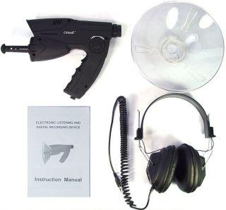 Microfono Binocolo Spia Direzionale Caccia Pesca Spy
