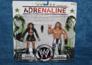 WWE Diva Katie Lea and Paul Burchill Adrenaline Series 33 Action