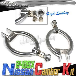 240sx s13 300zx Adjustable Drift Camber Kit Suspension
