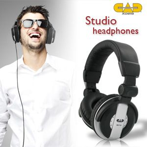 cad audio headphones mh110 recording studio quality
