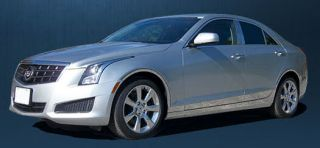 Cadillac ATS Stainless Rocker Panels Awesome Looks Quick Easy Install