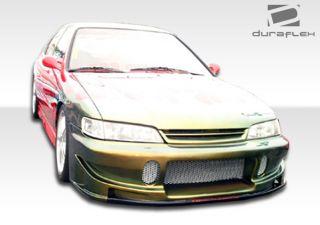 94 97 Honda Accord Duraflex Buddy Front Bumper 1 Piece Will not Fit V6