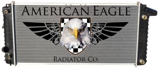 1993 Allante Cadillac Quality Fit Radiator by American Eagle Radiator