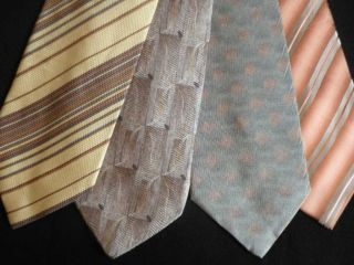 Men SILK Ties NEW JOSEPH ABBOUD Croft Barrow Calvin Klein Kenneth