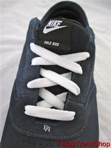 Rod Vulc Rod Obsidian Blue White Skate Shoe Mens Size US 11