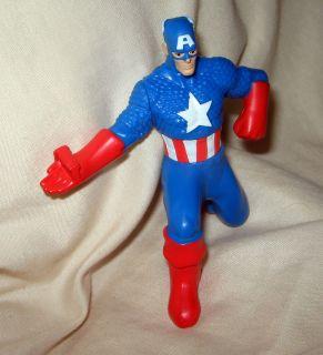 America Avengers Superhero Figurine Action Figure Birthday Cake Topper