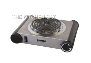 Single Burner Electric Hot Plate Portable Counter Top 1000 Watt Dorm