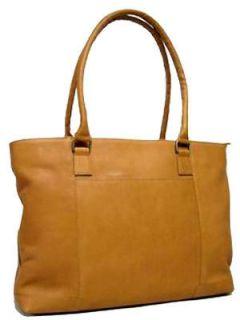 Le Donne Leather Womens Laptop Tote Bag Business Case