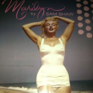 Marilyn Monroe 2013 Calendar 16 Month 12x12 New SEALED by Sam Shaw