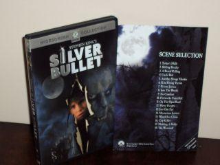 Stephen Kings Silver Bullet (1985) DVD Corey Haim, Gary Busey