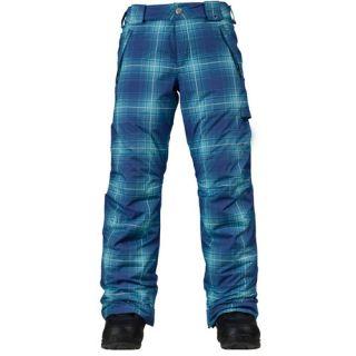 New Burton Girls Sweetart Snowboard Pants Large Blue