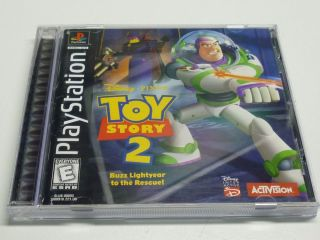 Disney Pixar Toy Story 2 Buzz Lightyear Playstation PS1 Game