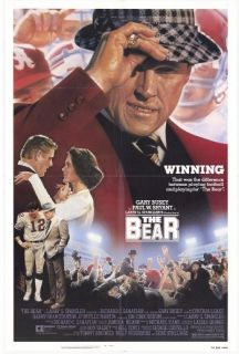 Bear Orig 27x41 Movie Poster G Busey Alabama Football