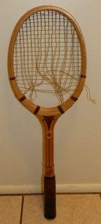 1950s Harry C Lee Dreadnought Driver Tennis Racket