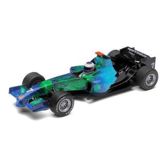scalextric c2817 earth f1 2007 jenson button 1 32 slot car brand new