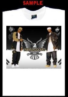 Dipset Diplomats Custom Photo T Shirt Tee CamRon 1159