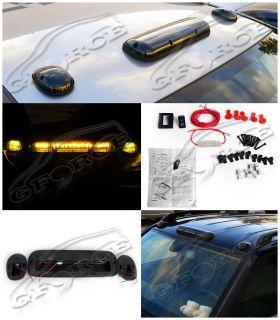 Pcs Cab Truck Van suv Smoke Lens LED Roof Top Marker Running