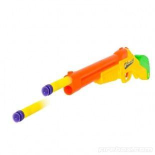 buzz bee toys double shot gun double barrel dart blasting easy loading