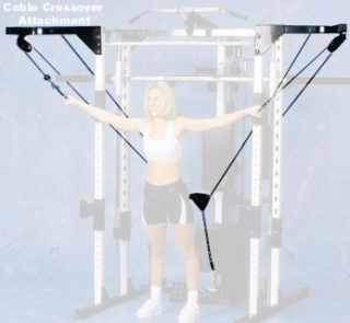 Yukon Chest and Bicep Professional Cable Crossover home Gym Attachment