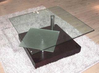 Vig Furniture Cj 071 Glass Top Coffee Table